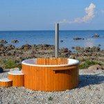 badestamp saltvann