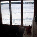 vedfyrt sauna funkis