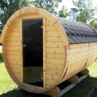 Sauna barrel 3.5 m Length Viking2