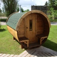 Sauna barrel 3.5 m Length Viking3