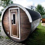 saunatønne 4m byggesett badstu