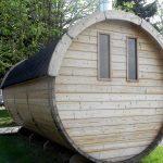 sauna badstutønne bakside byggesett