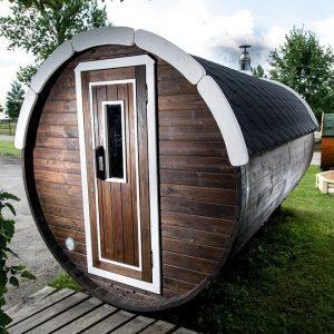 saunatønne byggesett badstutønne